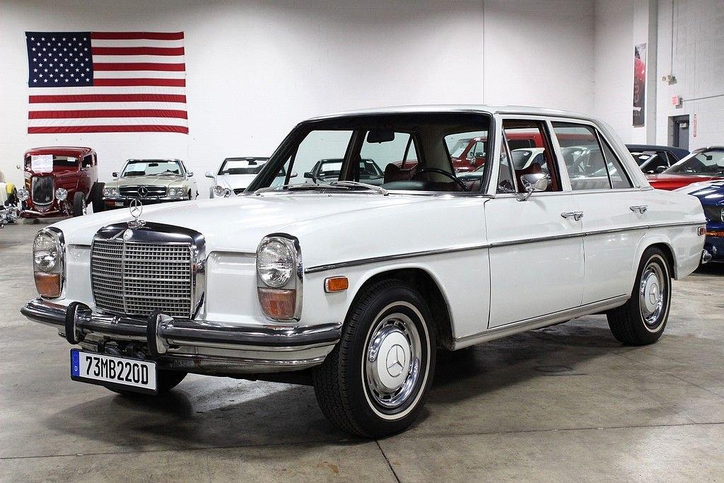 1973 mercedes benz 220 d