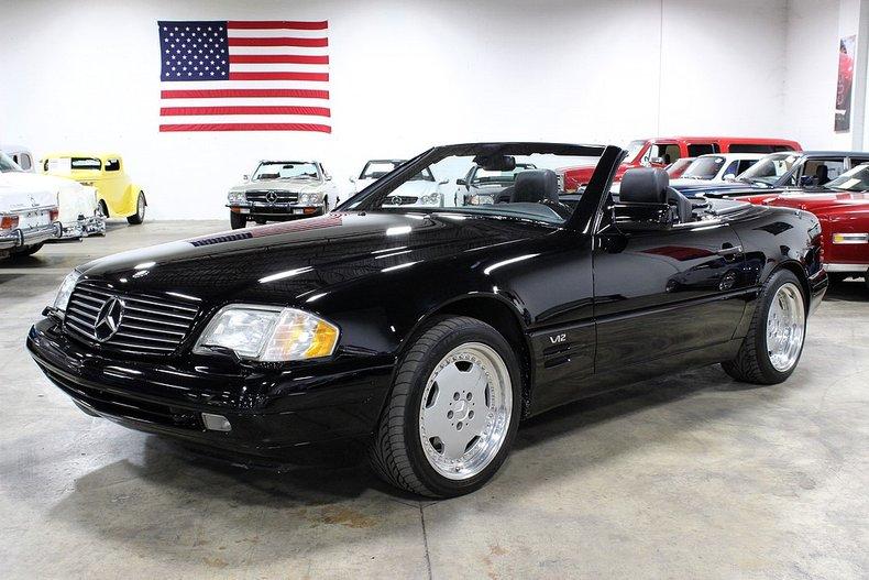 1997 mercedes benz sl600