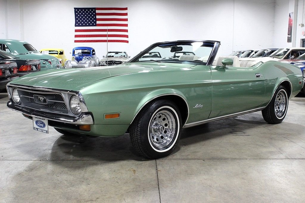 1972 ford mustang convertible