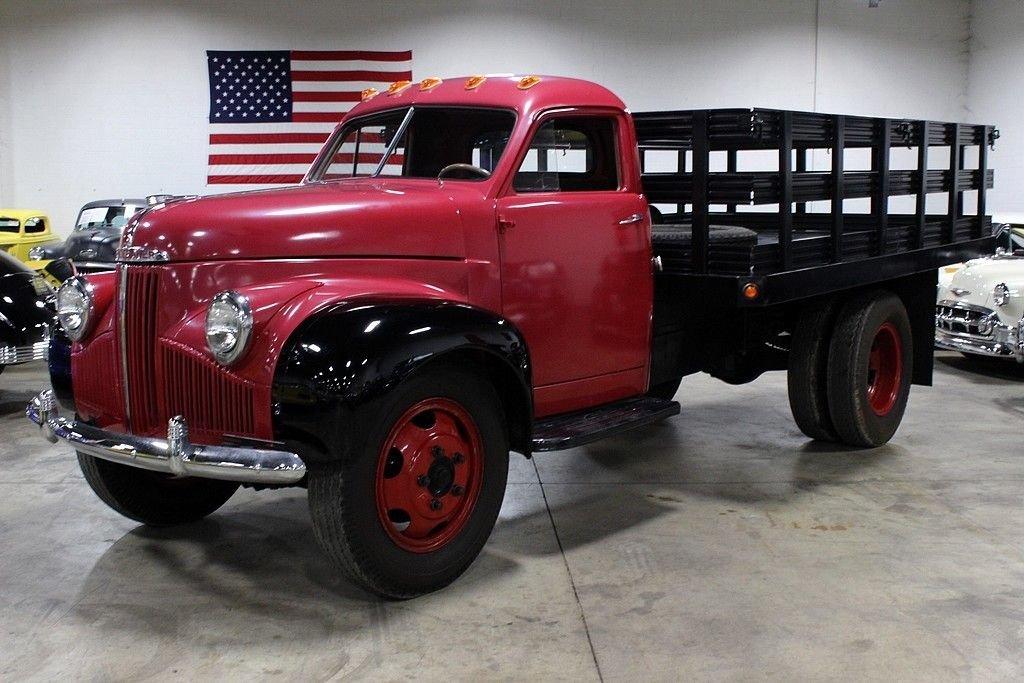 1947 studebaker stake bed truck