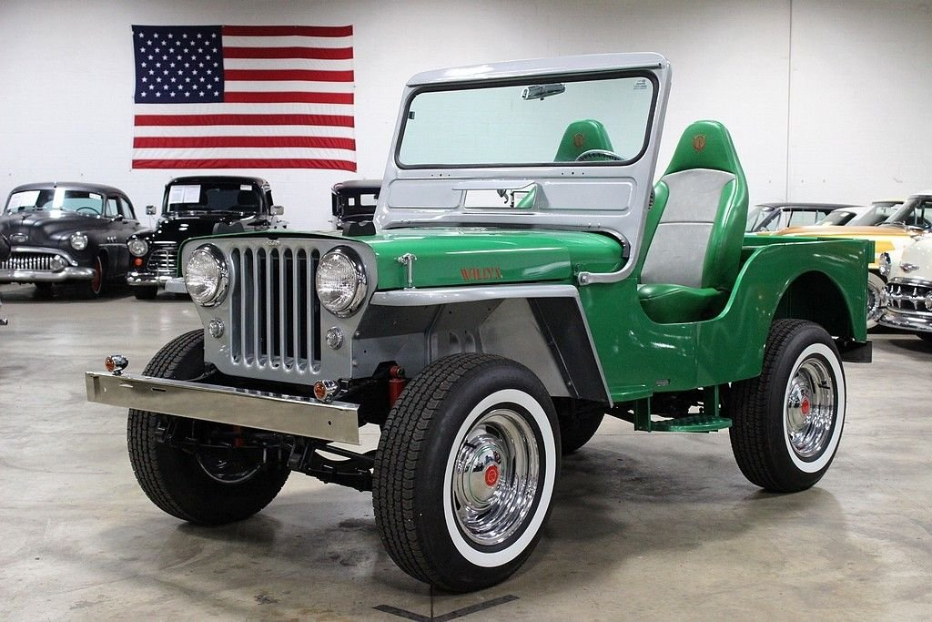1963 willys jeepster