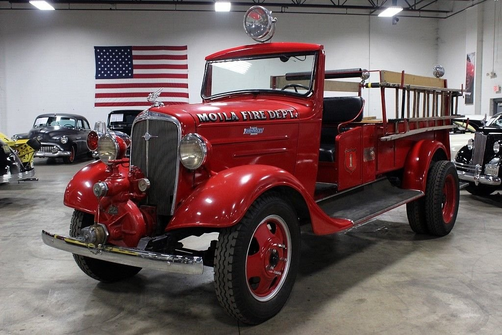 1936 chevrolet fire engine