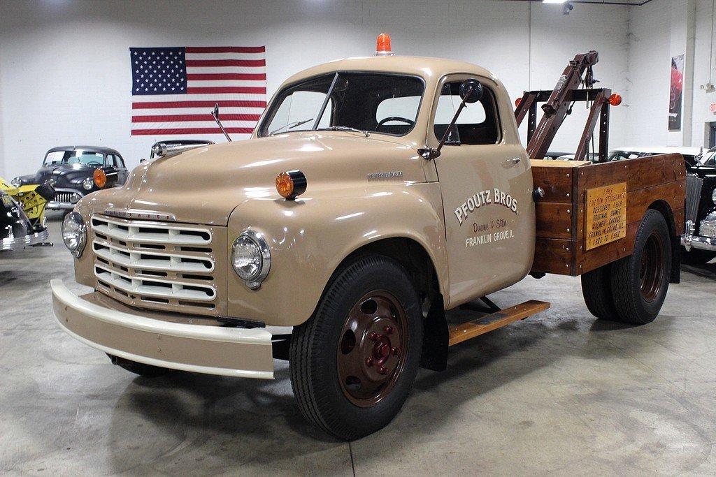1949 studebaker 1 1 2 ton tow truck