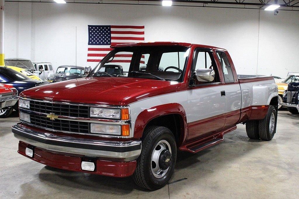 1990 chevrolet 1 ton pickup silverado 3500 dually