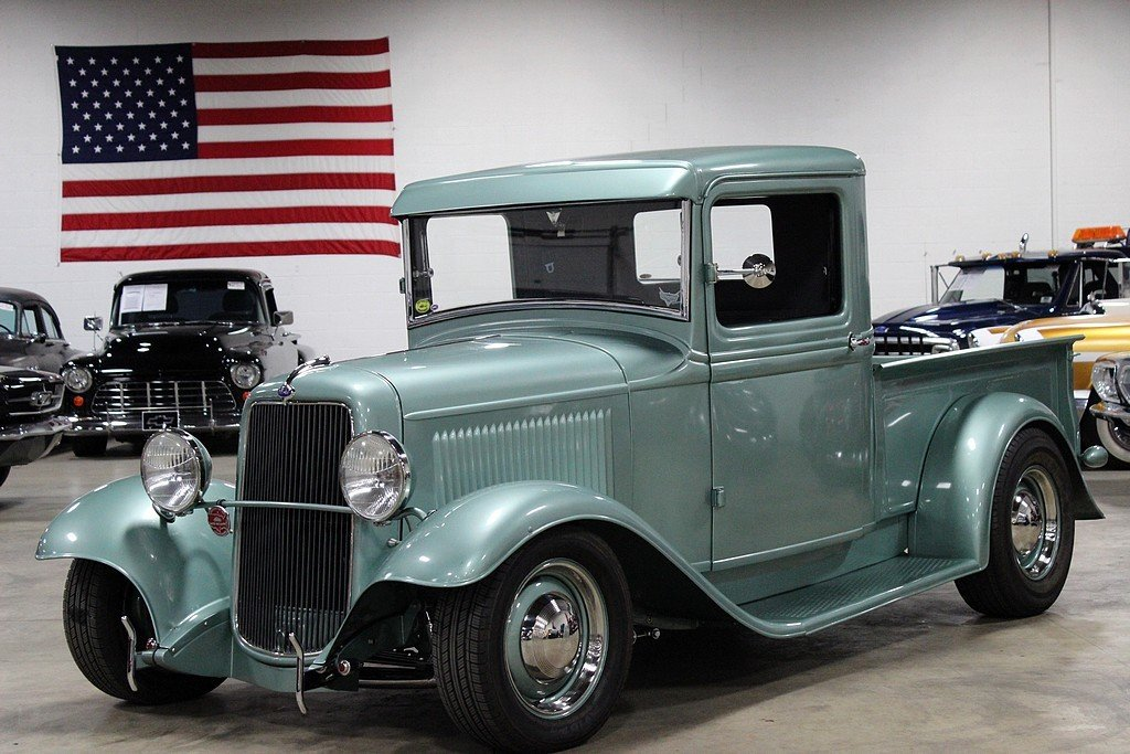 1934 ford pickup nostalgic hot rod