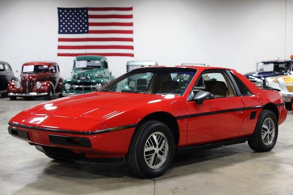 1984 Pontiac Fiero Gr Auto Gallery