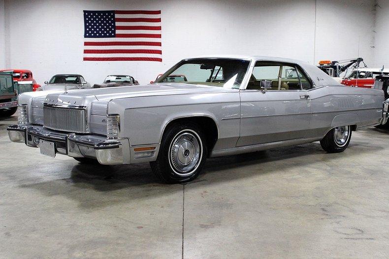 1974 Lincoln Continental Gr Auto Gallery