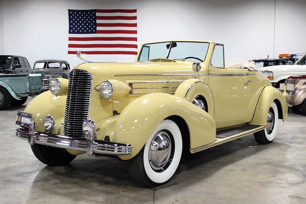1936 cadillac series 60 convertible