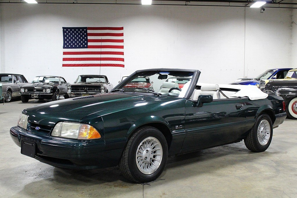 1990 ford mustang lx 5 0 convertible