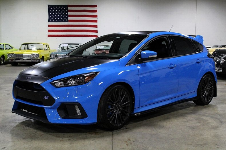 focus rs ford awd i4 liter hatchback miles manual speed offered