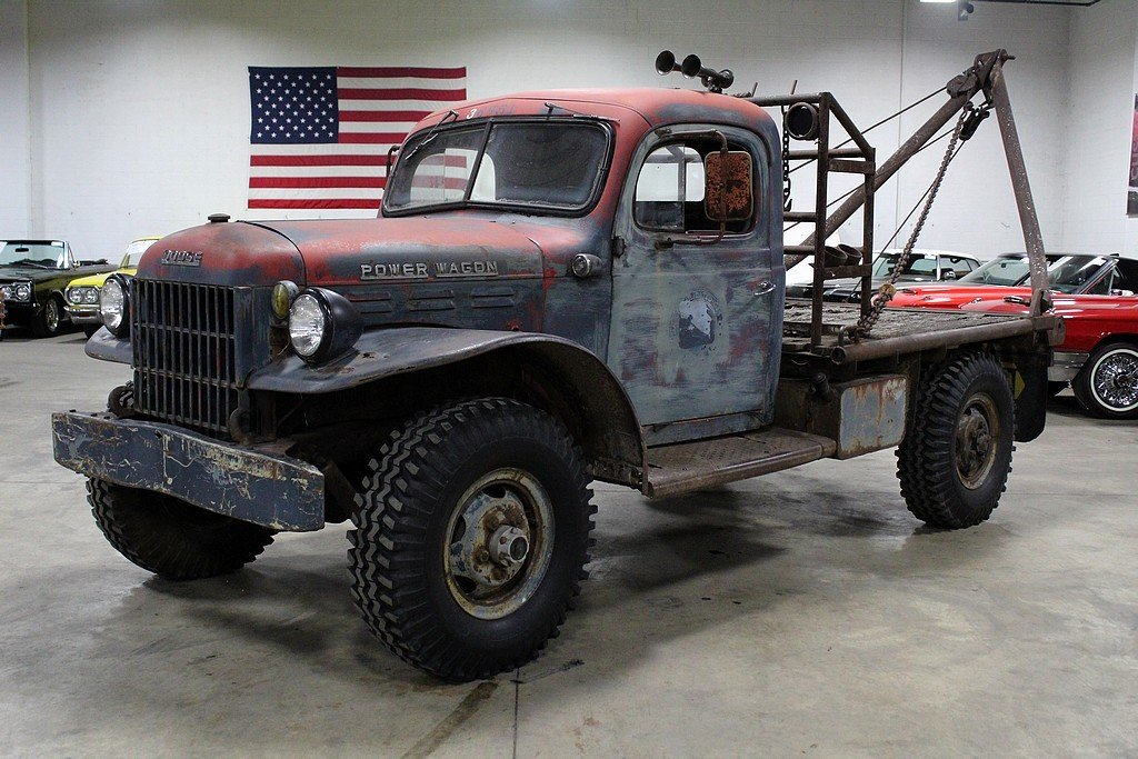 1957 dodge power wagon tow truck