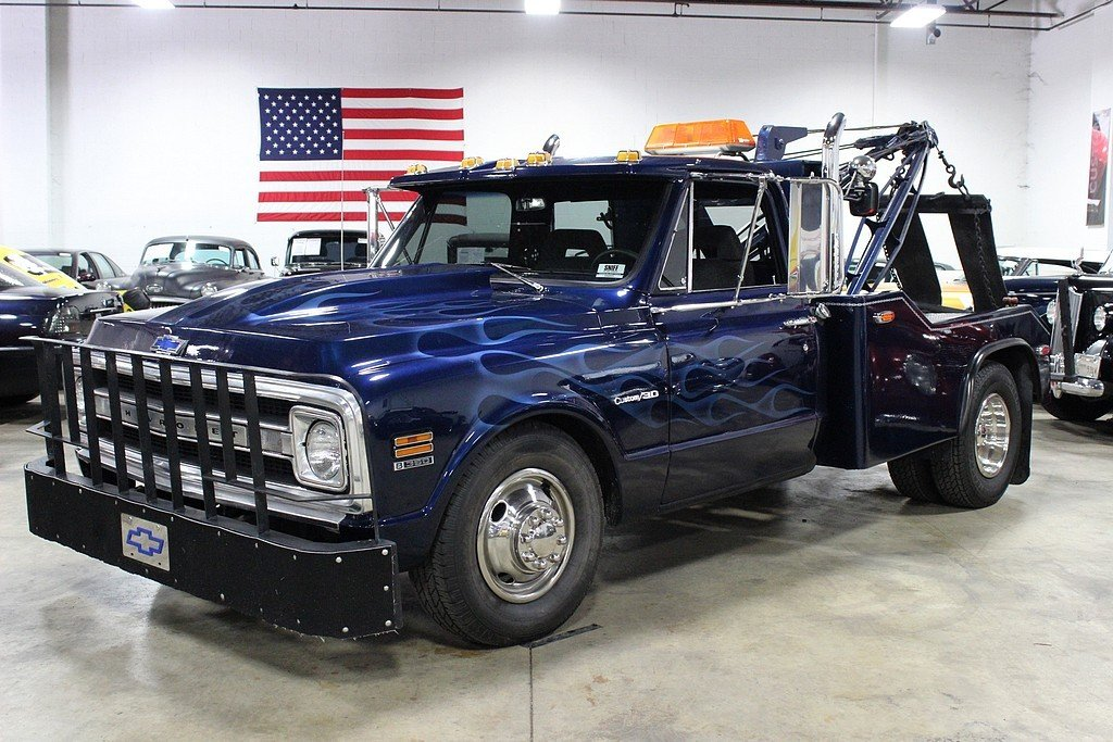 1971 chevrolet c 30 tow truck