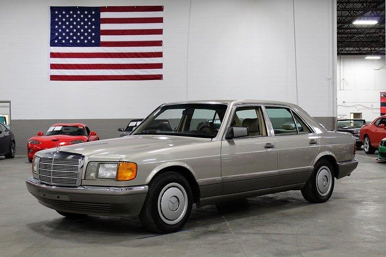 1986 mercedes benz 300 se
