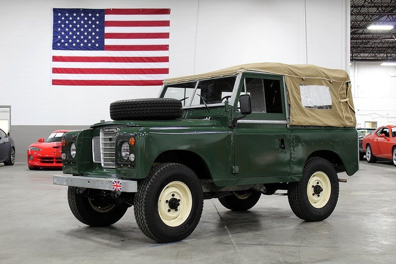 1975 land rover defender