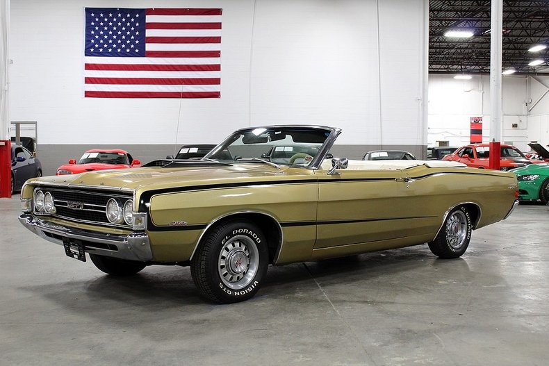Details about 1968 Ford Torino GT Convertible