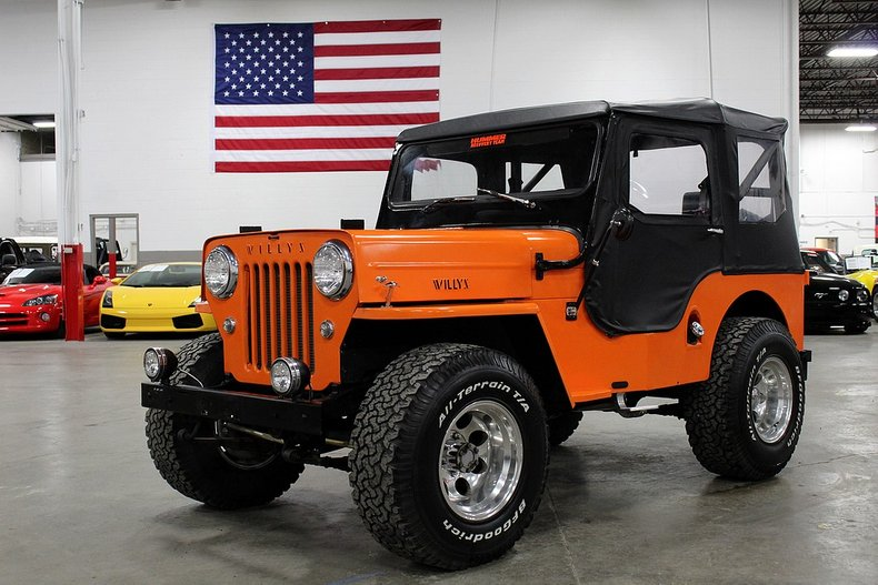1962 willys jeep cj3b