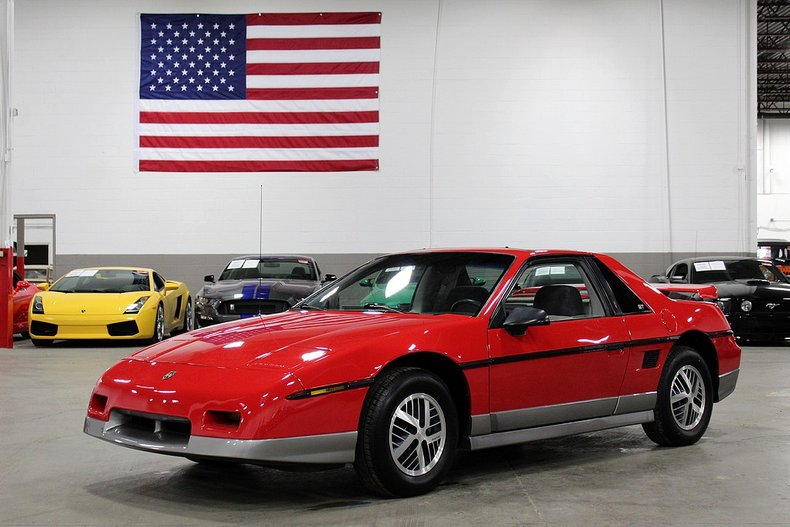 1985 Pontiac Fiero For Sale