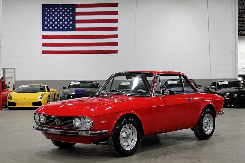 1972 lancia fulvia 1600hf