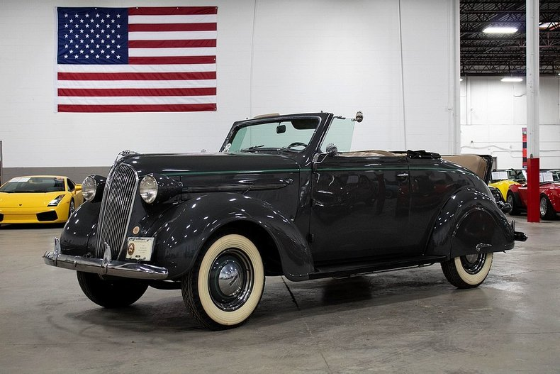 1937 plymouth convertible