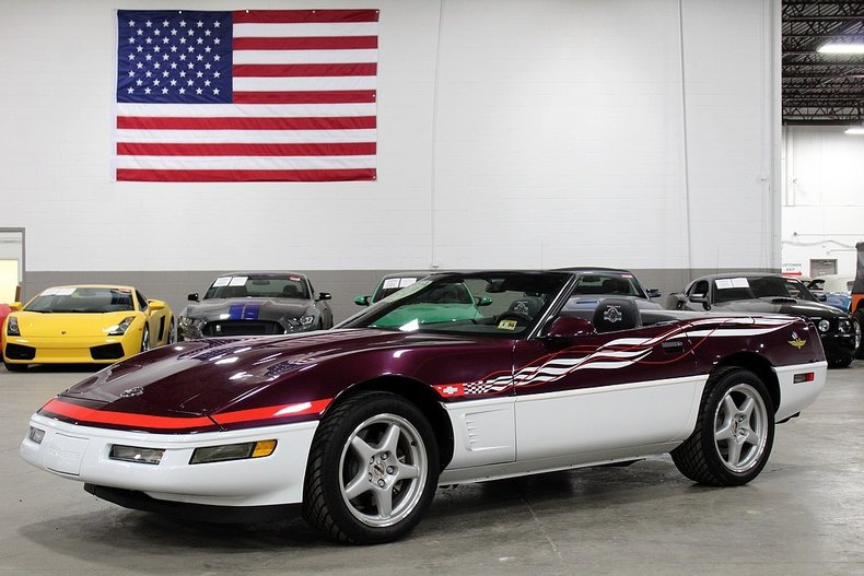 1995 chevrolet corvette convertible indy pace car