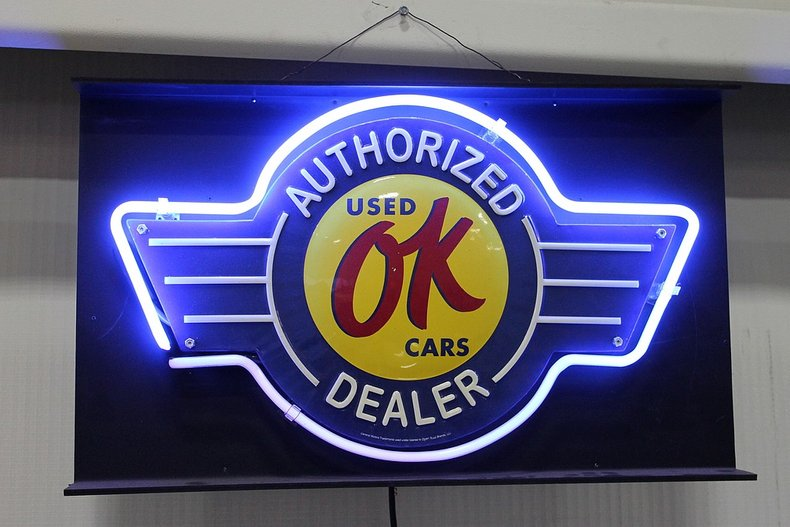 Ok used cars authorized dealer sign