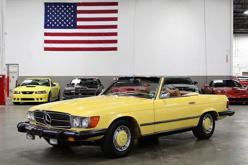 1975 mercedes benz 450 sl