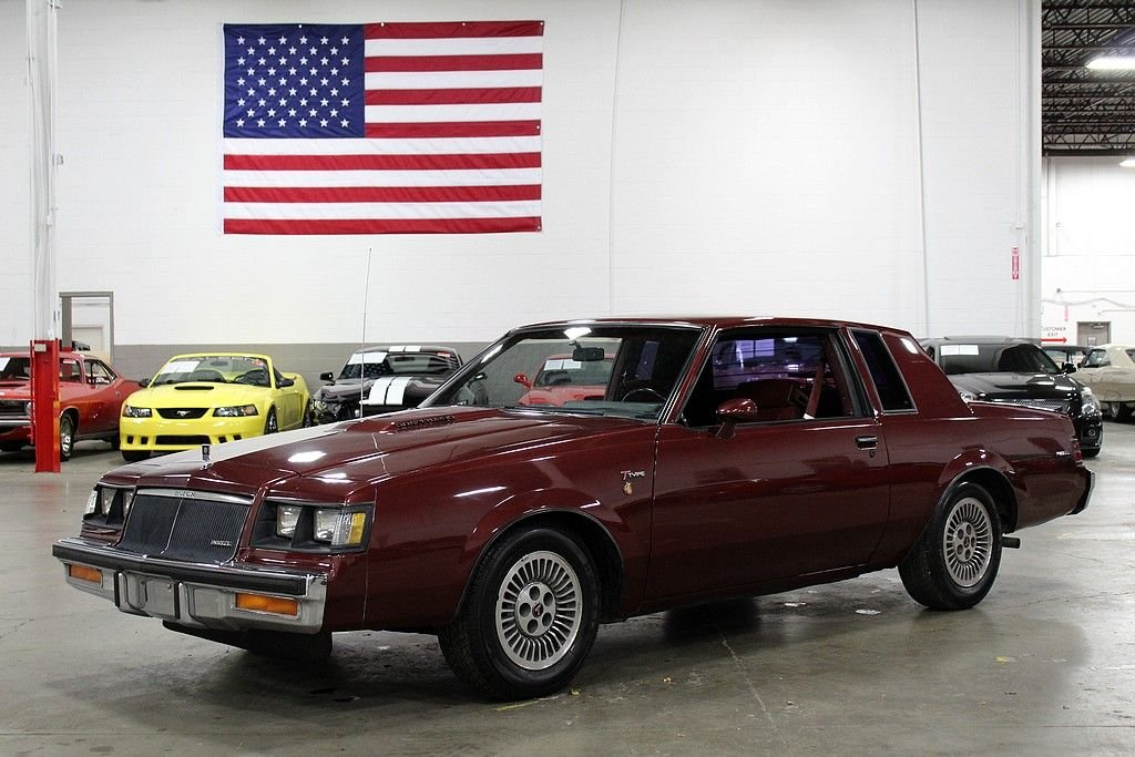 1984 buick regal t type