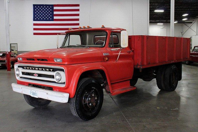 1965 chevrolet c60 flatbed truck