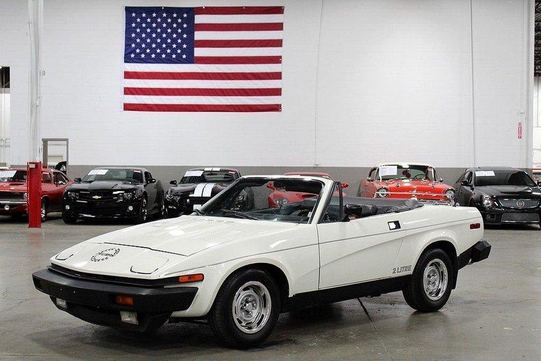 1986 triumph tr7