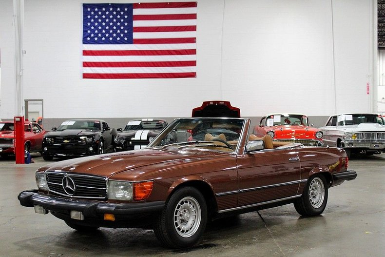 1977 Mercedes-Benz 450 SL For Sale