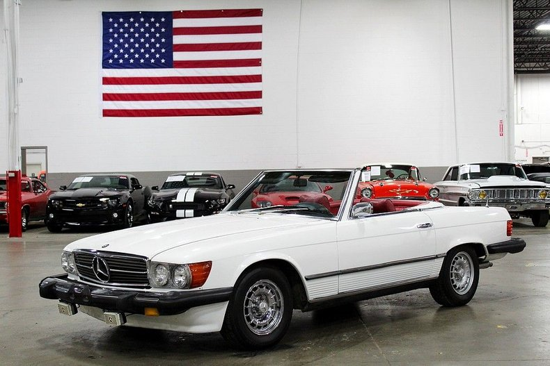 1975 Mercedes-Benz 450 SL For Sale