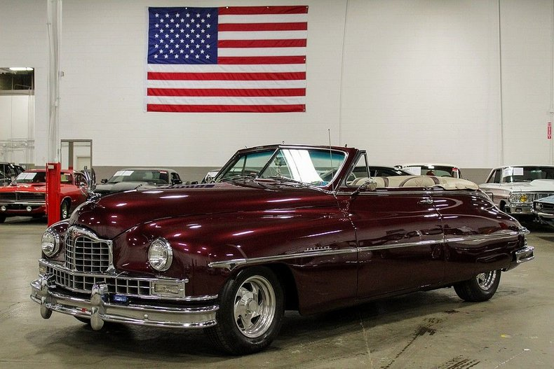 1950 Packard Custom 8 Convertible For Sale