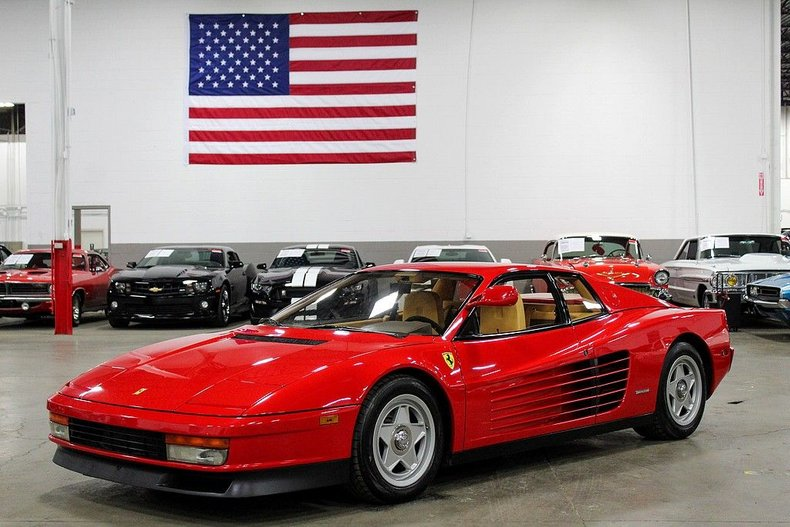 1986 Ferrari Testarossa For Sale
