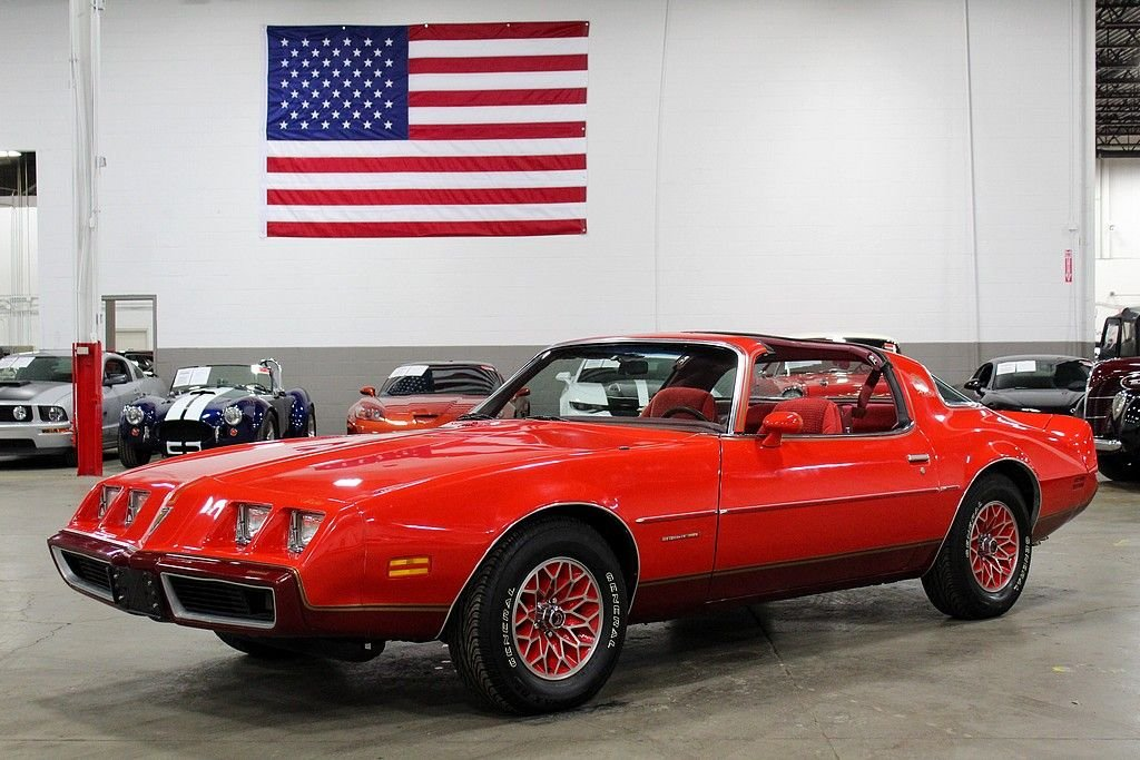 1979 pontiac firebird red bird