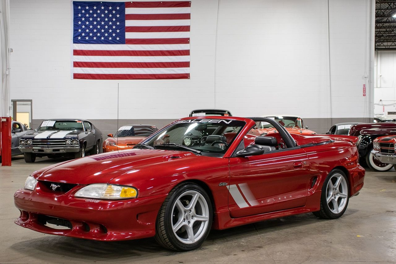 1997 ford mustang saleen s281