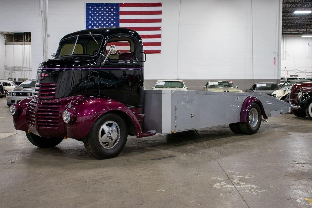 1947 gmc flat bed coe