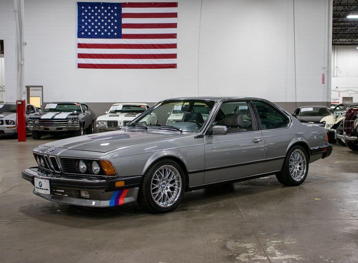 1987 bmw 635csi l6