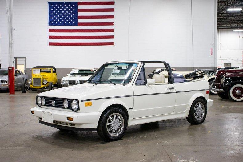 1988 volkswagen golf cabriolet