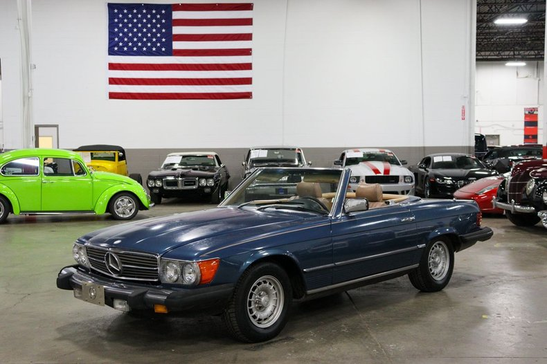 1982 mercedes benz 380sl