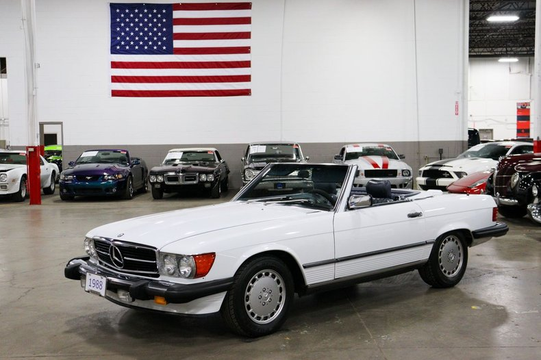1988 mercedes benz 560