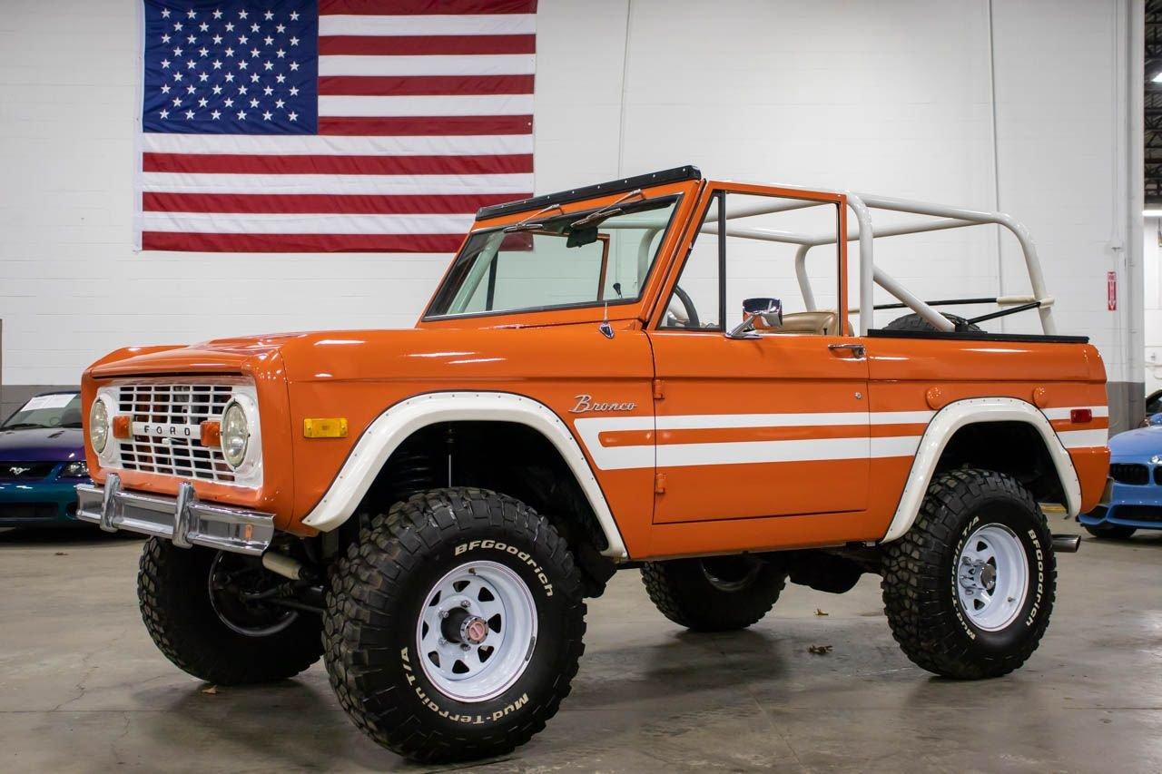 1976 ford bronco explorer