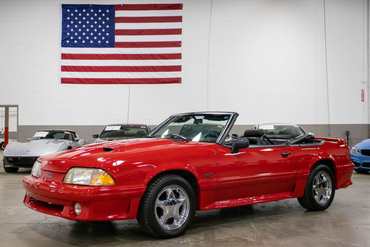 1992 ford mustang gt 5 0