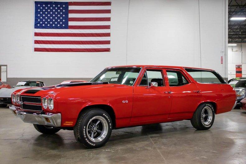 1970 chevrolet chevelle ss wagon