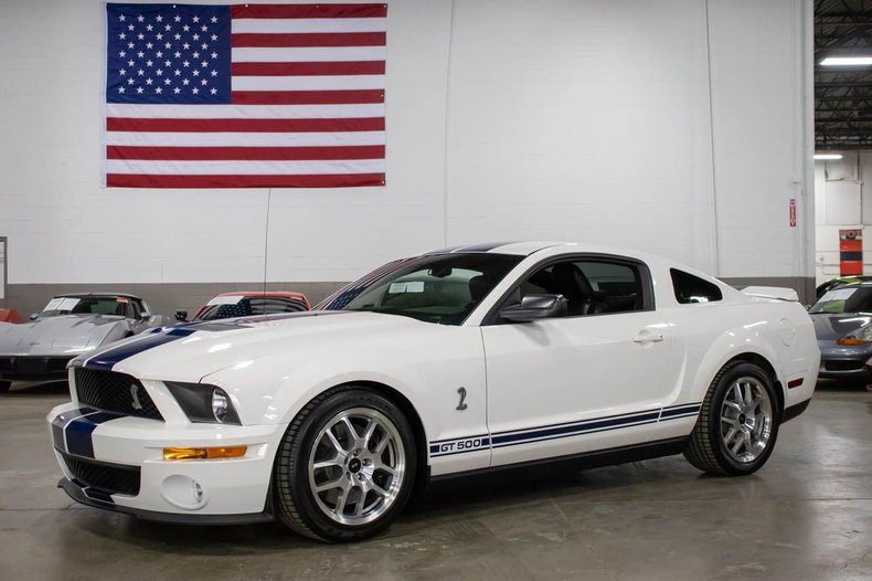 2007 ford mustang gt500