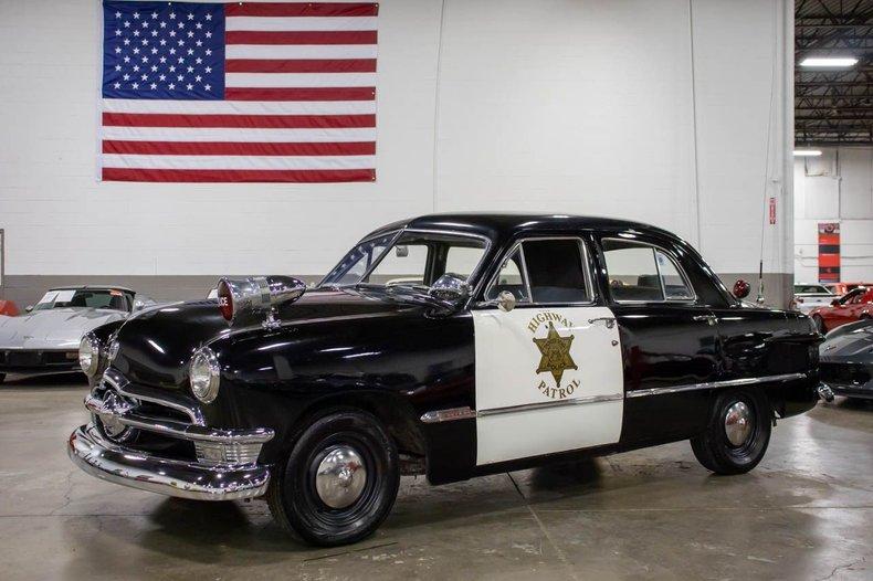 1950 ford police cruiser custom