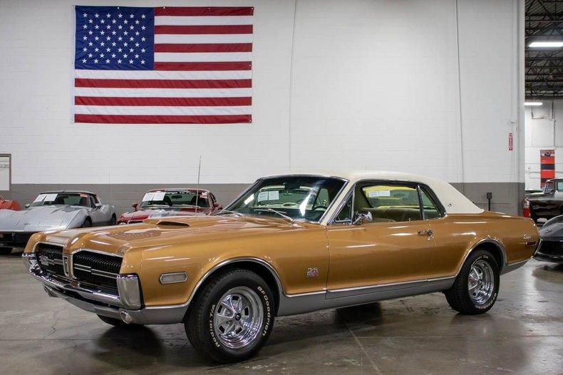 1968 mercury cougar gt e
