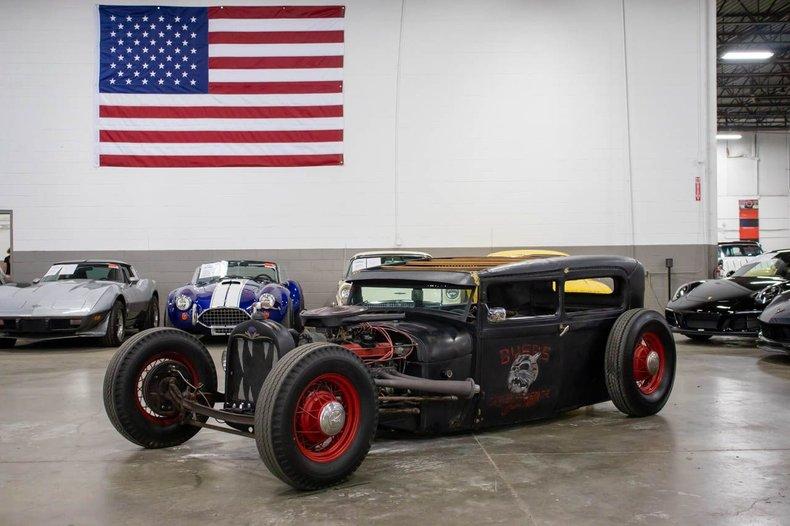 1928 ford tudor rat rod