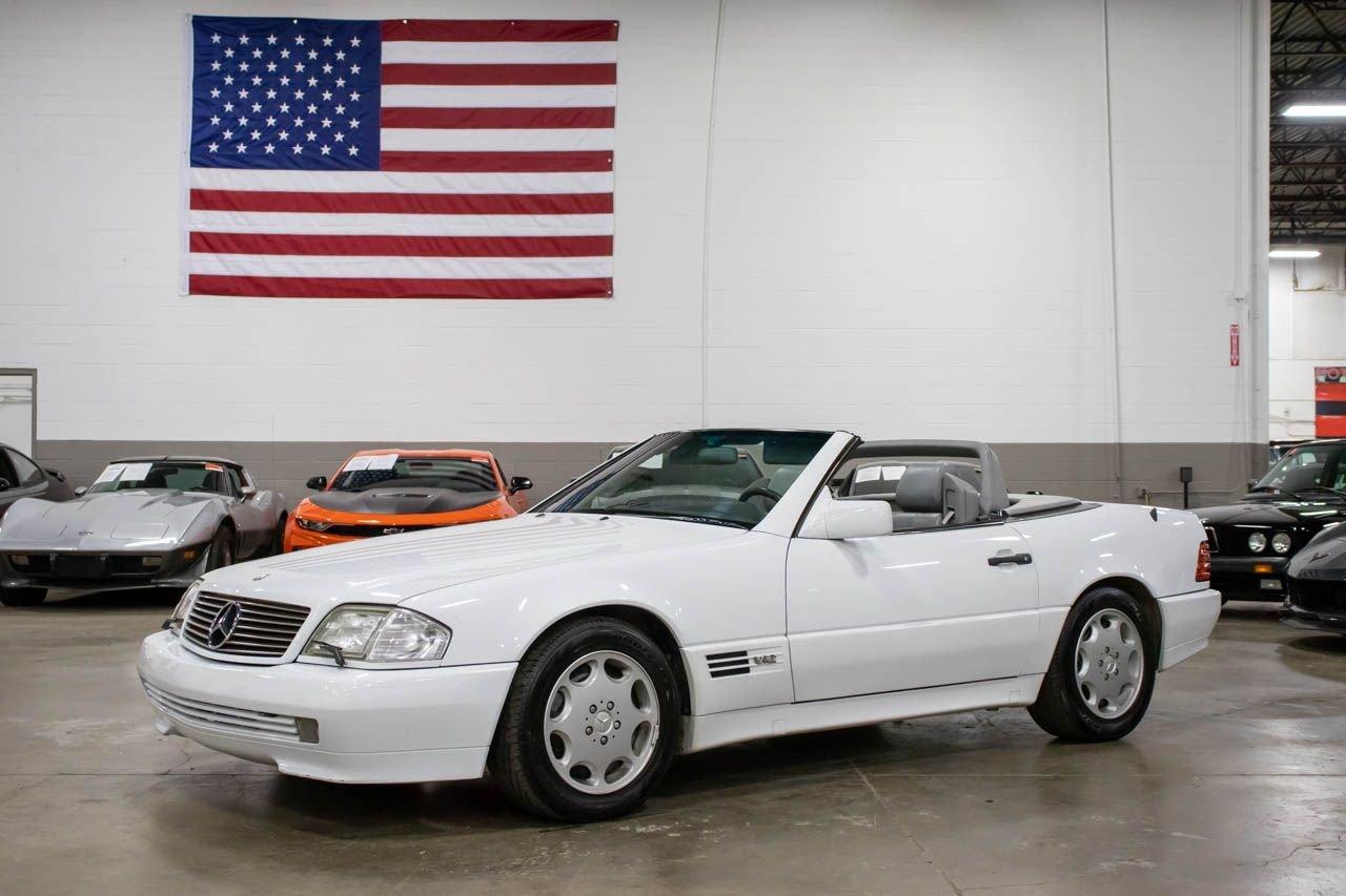 1993 mercedes benz 600sl