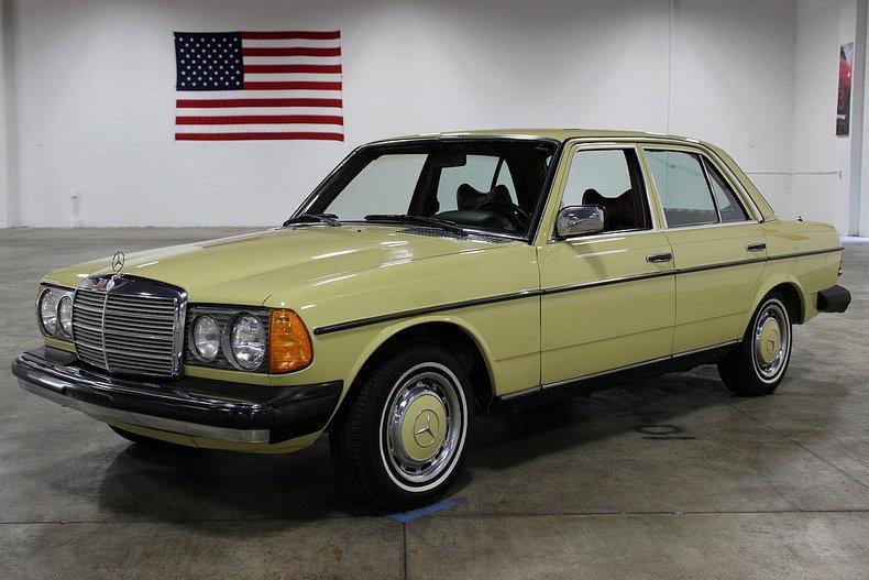 1978 mercedes diesel
