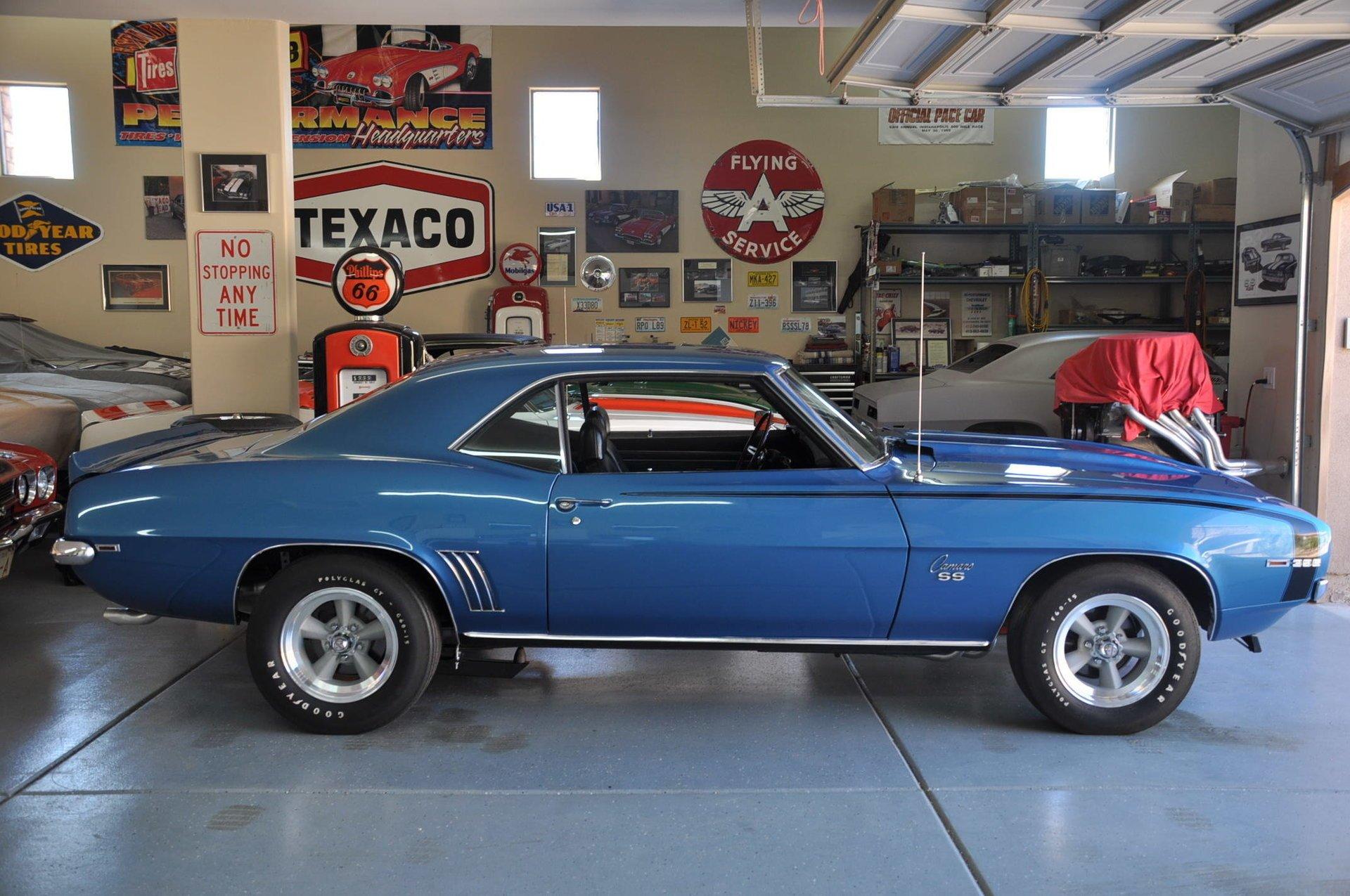 1969 chevrolet camaro rs ss 396 375 l89 w 427 l88